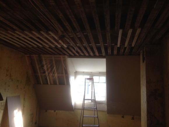 Isoleren van plafond en wanden, locatie Utrecht