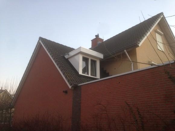 Plaatsing van dakkapel, locatie Rhoon